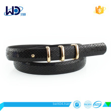 newest style pu belt factory design belt