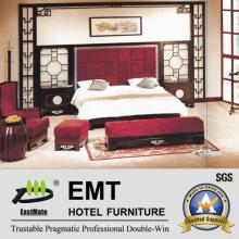 Muebles de hotel ejecutivo con diseño chino, dormitorio de hotel de lujo (EMT-D0902)