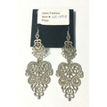Wedding Beauty Lace Earring with Metal