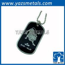 customize horoscope army dog tag, Leo dog tag