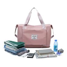 2021 new fashion design Multifunctional Oxford Waterproof Portable Folding Expansion Travel Bag