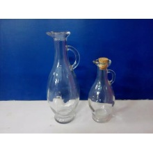Glass Oil Bottle with Beak