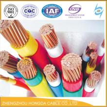 Câble de contrôle de KVV de gaine de PVC isolé par PVC de noyau de cuivre
