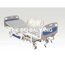 A-56 Móvil de doble función cama de hospital manual