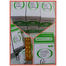 Antiasthmatic Aminophylline Tablets