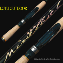 High Carbon 1.83m UL Aktion Zinn Rod Lure Rod