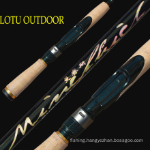 High Carbon 1.83m UL Action Tin Rod Lure Rod