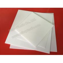 Fibra de vidrio / hoja de PTFE llena de carbón con 1200X1200mm
