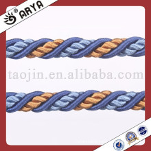 High Quality Rope Textile Cheap Sofa Covers Ropes Decoration Natural Latex Cord