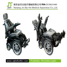 Em pé cadeira de rodas para terapia de reabilitação