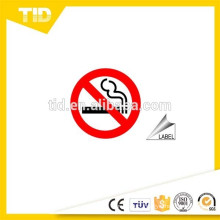 No Smoking Signs and Labels, reflective material