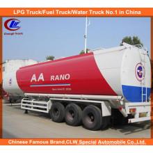 Reboque do tanque de combustível de 3 eixos semi 42000liters