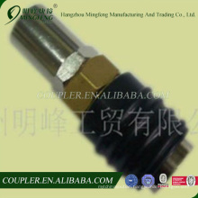 European universal rubber hull 10*19 hose barb with rubber pipe shroud quick coupler