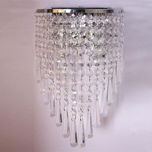 Top for Classical Crystal Wall Light indoor fancy wall light fixture for decorate room supply to Poland Suppliers