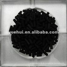 3,0 mm Zylindrische Aktivkohle auf Kohlebasis für Katalysatorträger oder Katalysator ZZ30