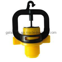 Yellow Micro Butterfly Sprinkler for Irrigation