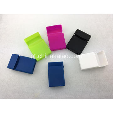 Atacado Gift 20pcs Pack Silicone Cigarette Case