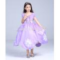 Прекрасная София принцесса платье горячая распродажа одежда косплей принцесса София платье