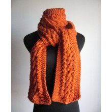 Made to Order Hand Knitted Scarf Made in China