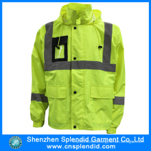 China Factory Wholesale Safety Parka High Visibility Jacket