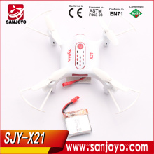 Syma X21 Pocket Drone X21 2.4Ghz Remote Control Mini RC Quadcopter With 360D Flip And One Key Take-off / Landing SJY-X21