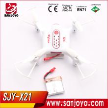 Syma x21 zangão de bolso x21 2.4 ghz controle remoto mini quadcopter rc com 360d flip e uma chave decolagem / desembarque sjy-x21