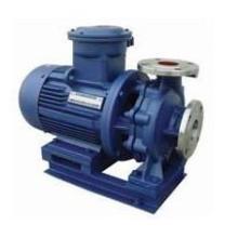 Fermeture inox horizontal couplé Inline pompe à eau centrifuge