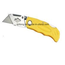 Cuchillo plegable de plástico