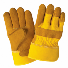 Cheap for Women Leather Gloves High Quality Genuine Leather Industrial Work gloves supply to French Polynesia Suppliers