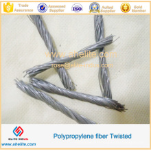 Polypropylebe Concrete Twisted Fiber for Floor