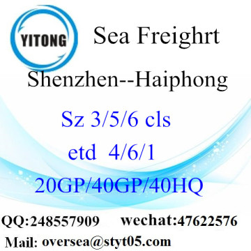 Shenzhen Port Sea Freight Shipping ke Haiphong