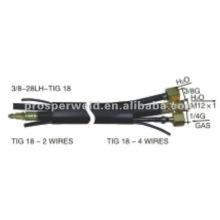 Cables de soldadura TIG WATER