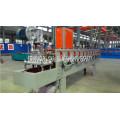 Perfil de marco de acero de Color de Cangzhou Forward que hace la máquina