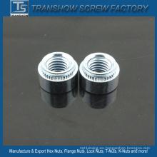 Nueces de clinchado automotrices de acero galvanizado