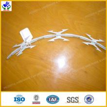 Alambre de púas galvanizado de la maquinilla de afeitar (HPRW-0609)