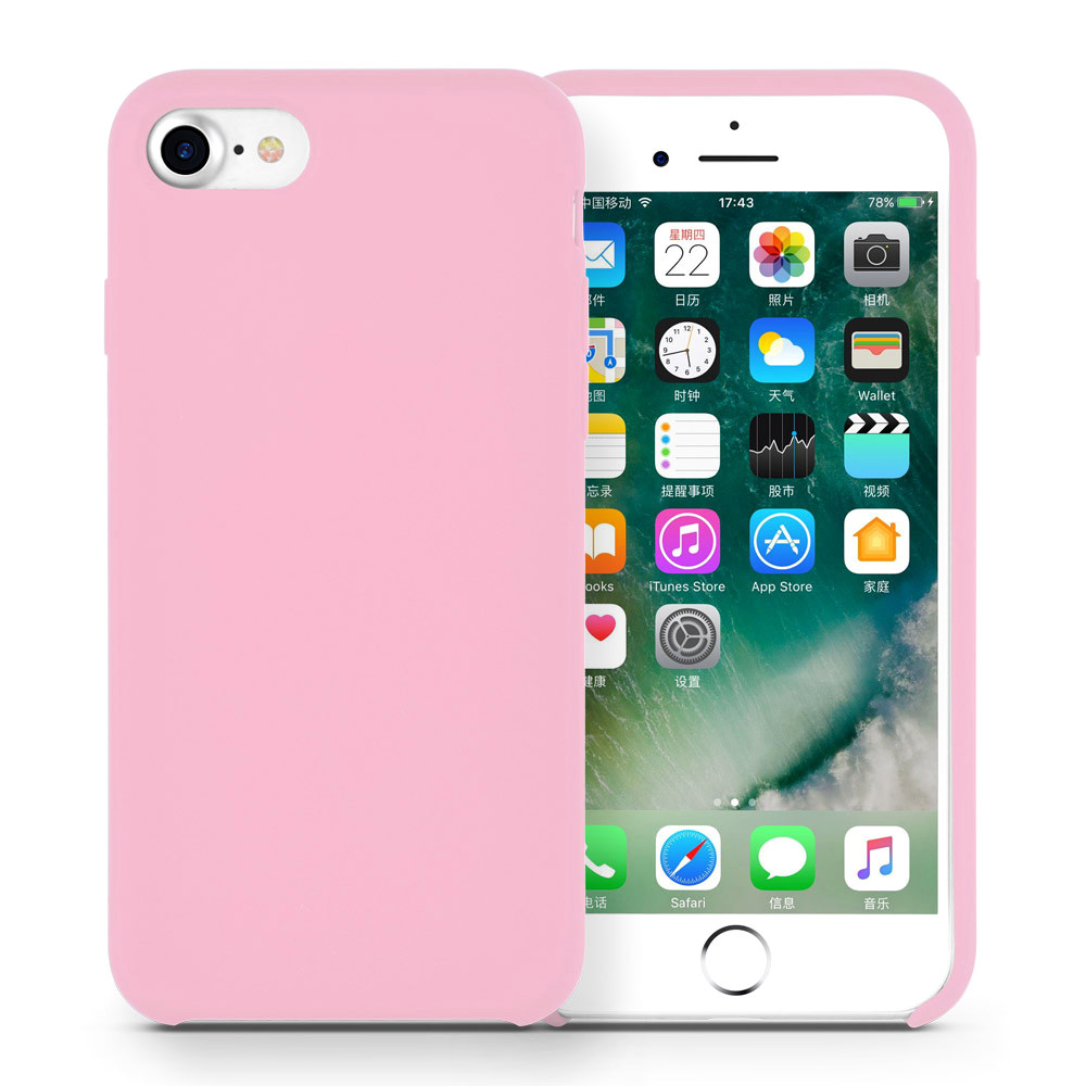liquid silicone iphone7 cover