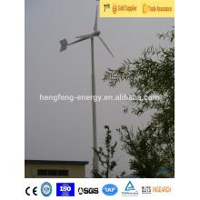 Bestanden, Zertifizierung und Anzug für den Heimgebrauch 5000 Watt Windkraftanlage