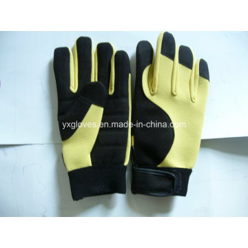 Work Glove-Micro Fiber Glove-Safety Glove-Industrial Glove-Labor Glove-Hand Glove-Cheap Glove