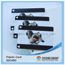 Cartão do membro Cartões plásticos do cartão do PVC