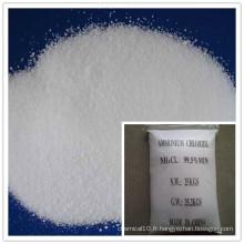 Chlorure d'ammonium à teneur industrielle (NH4CL) 99,5% Min
