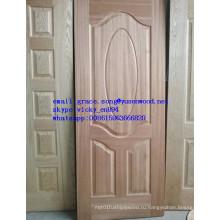 Горячая Продажа Деревянная Облицовка, Меламин Двери Кожи