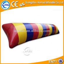 0.9mm PVC high quality water blob, funny water game inflatable air bag