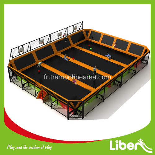 Lit enfant trampoline int rieur for Trampoline interieur