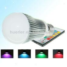 Offre fabricant avec CE RoHS E27 100-240v 5W télécommande rgb ampoule