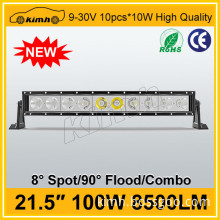 """High power 8500LM 100w 21.5"""" light bars for security cars"""