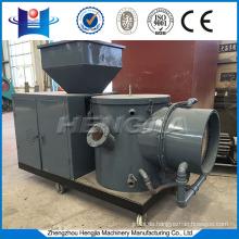 Rice husk pellet biomass burner for wood pellet production plant