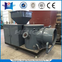 Rice husk pellet biomass burner for wood pellet production plant