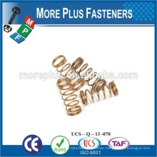 Made IN TAIWAN high qualiy small spring stainless steel spring brass Spring
