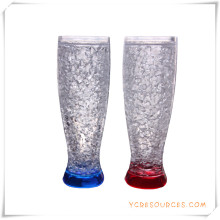 Tasse givrée à double paroi Tasse à bière glacée glacée pour cadeaux promotionnels (HA09078-1)