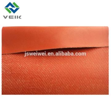 Tejido de tela de fibra de vidrio recubierto de goma de silicona